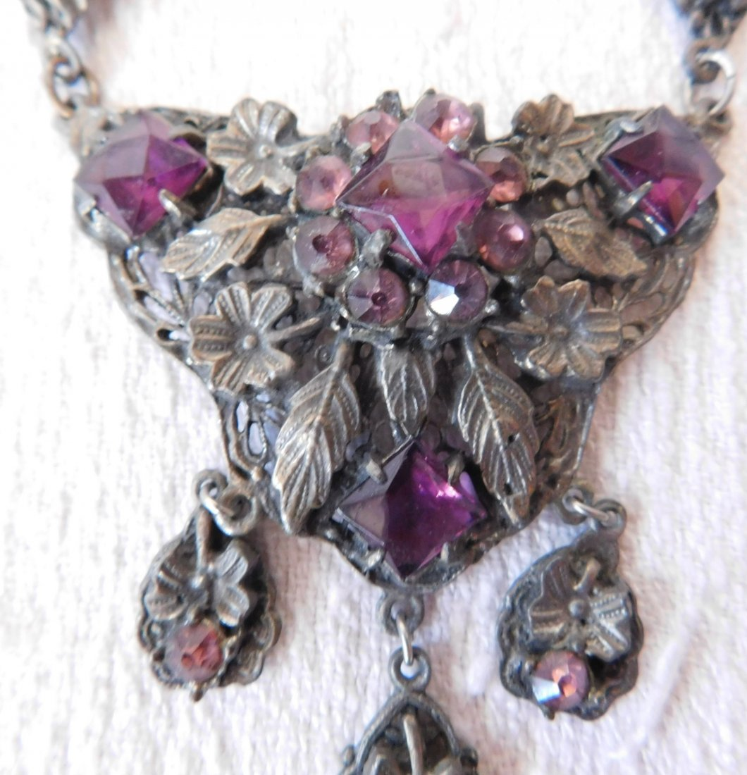 Indian Silver Necklace - 3