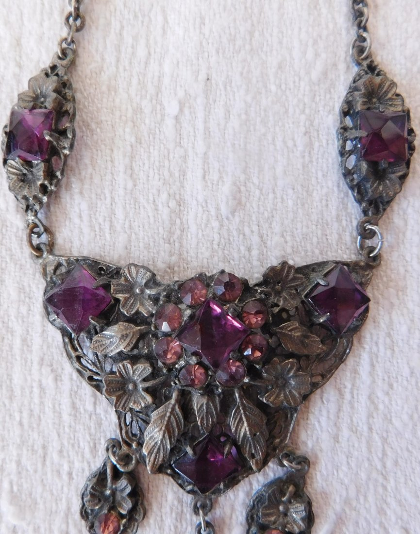 Indian Silver Necklace - 4