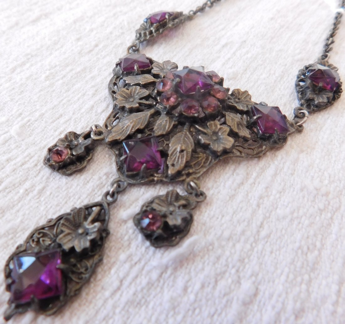 Indian Silver Necklace - 5