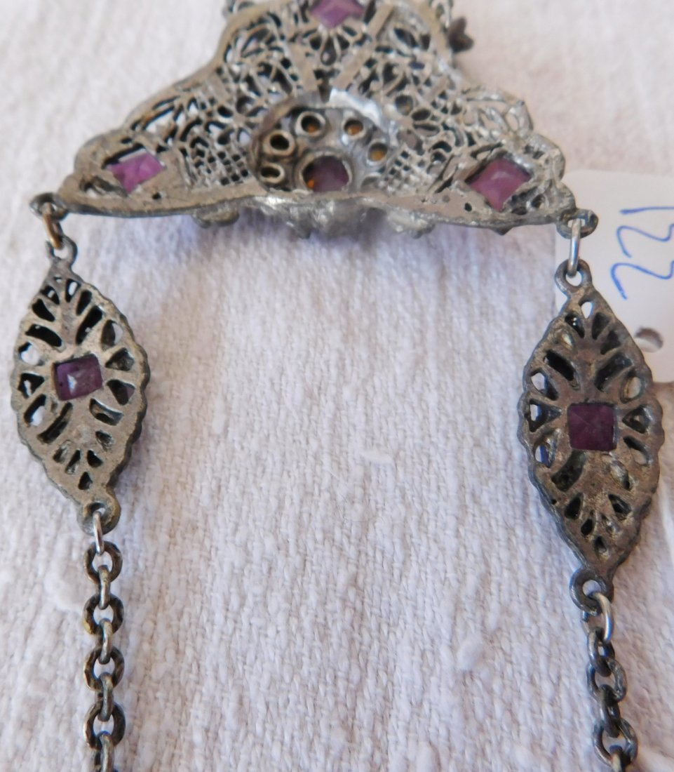 Indian Silver Necklace - 7