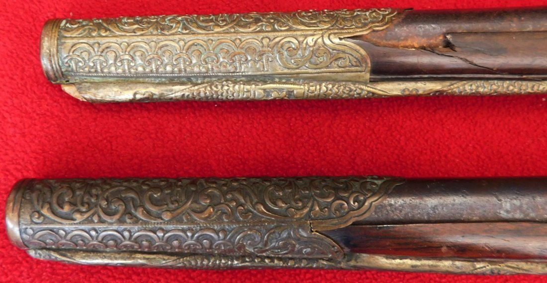 Matched Pair of Dueling Pistols - 10