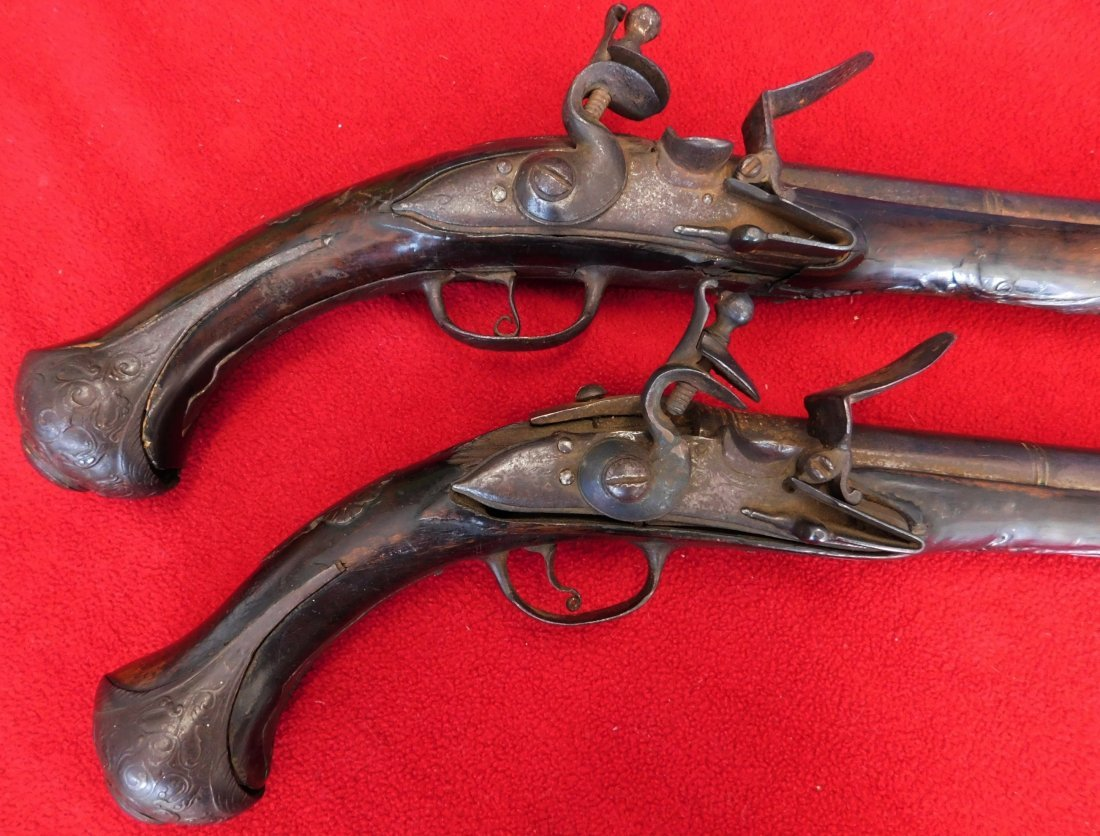 Matched Pair of Dueling Pistols - 2