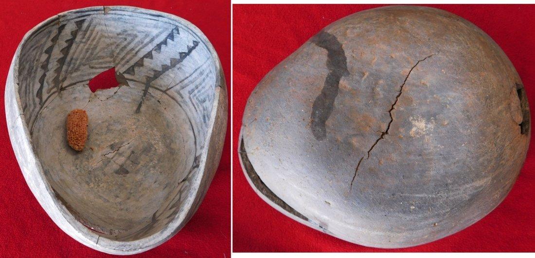 Anasazi Bowl, Axe & Pipe - 10