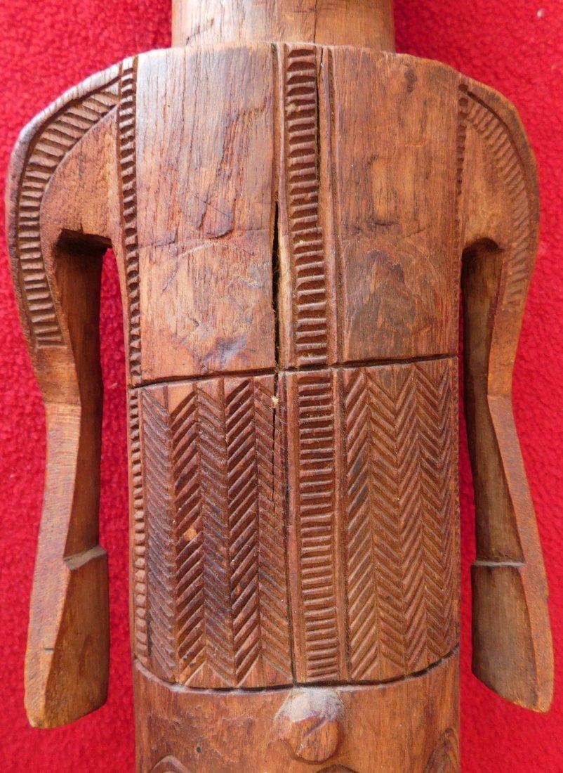 Polynesian Wood Sculpture - 3