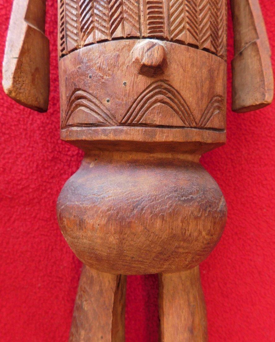 Polynesian Wood Sculpture - 4