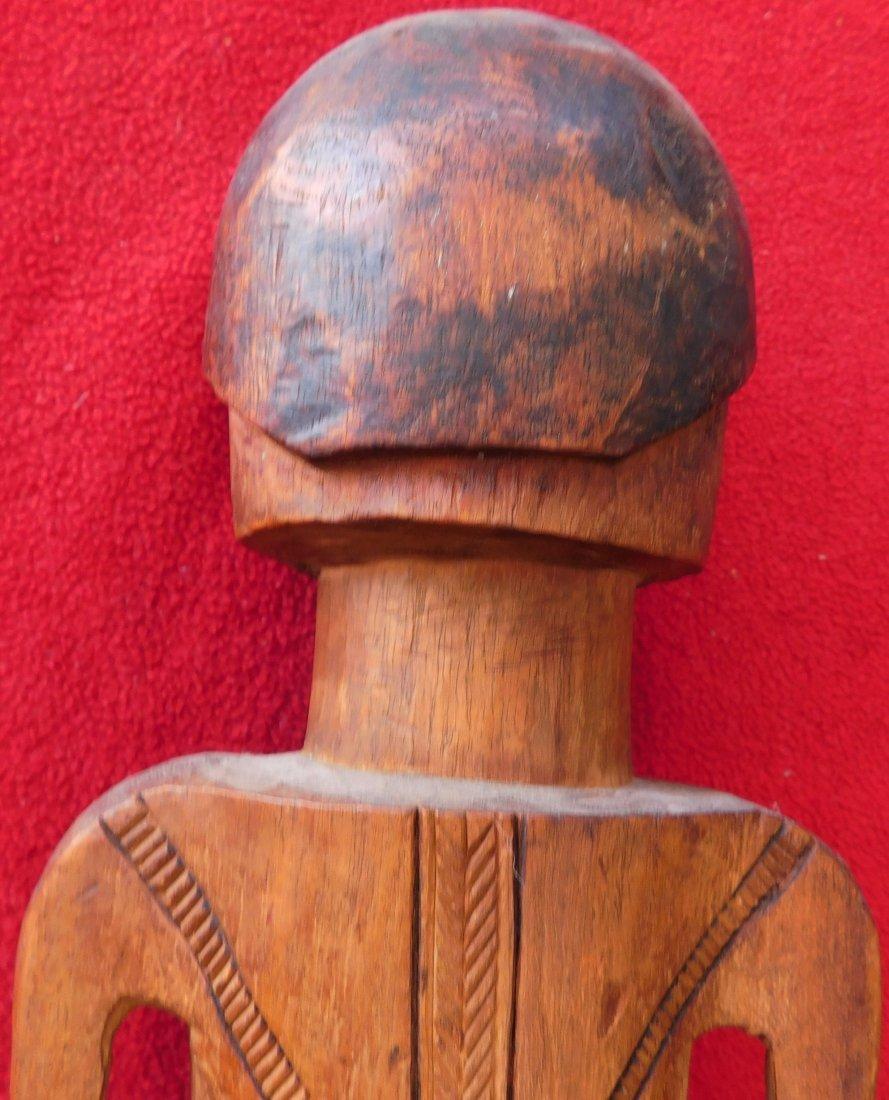 Polynesian Wood Sculpture - 7