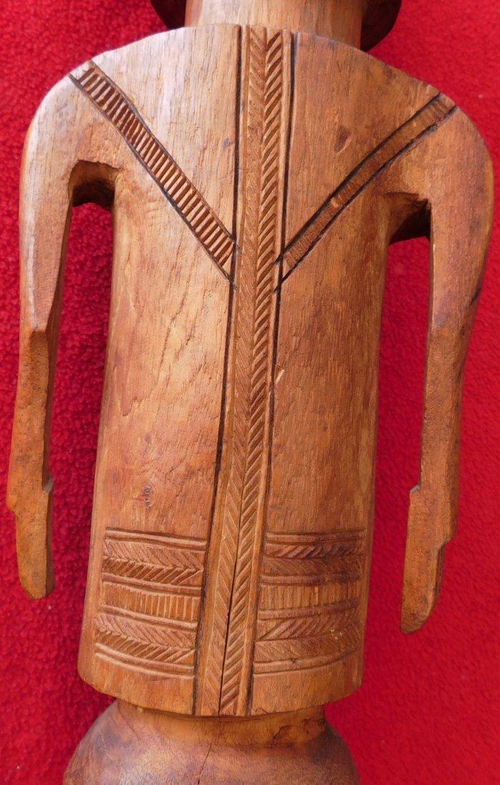 Polynesian Wood Sculpture - 8