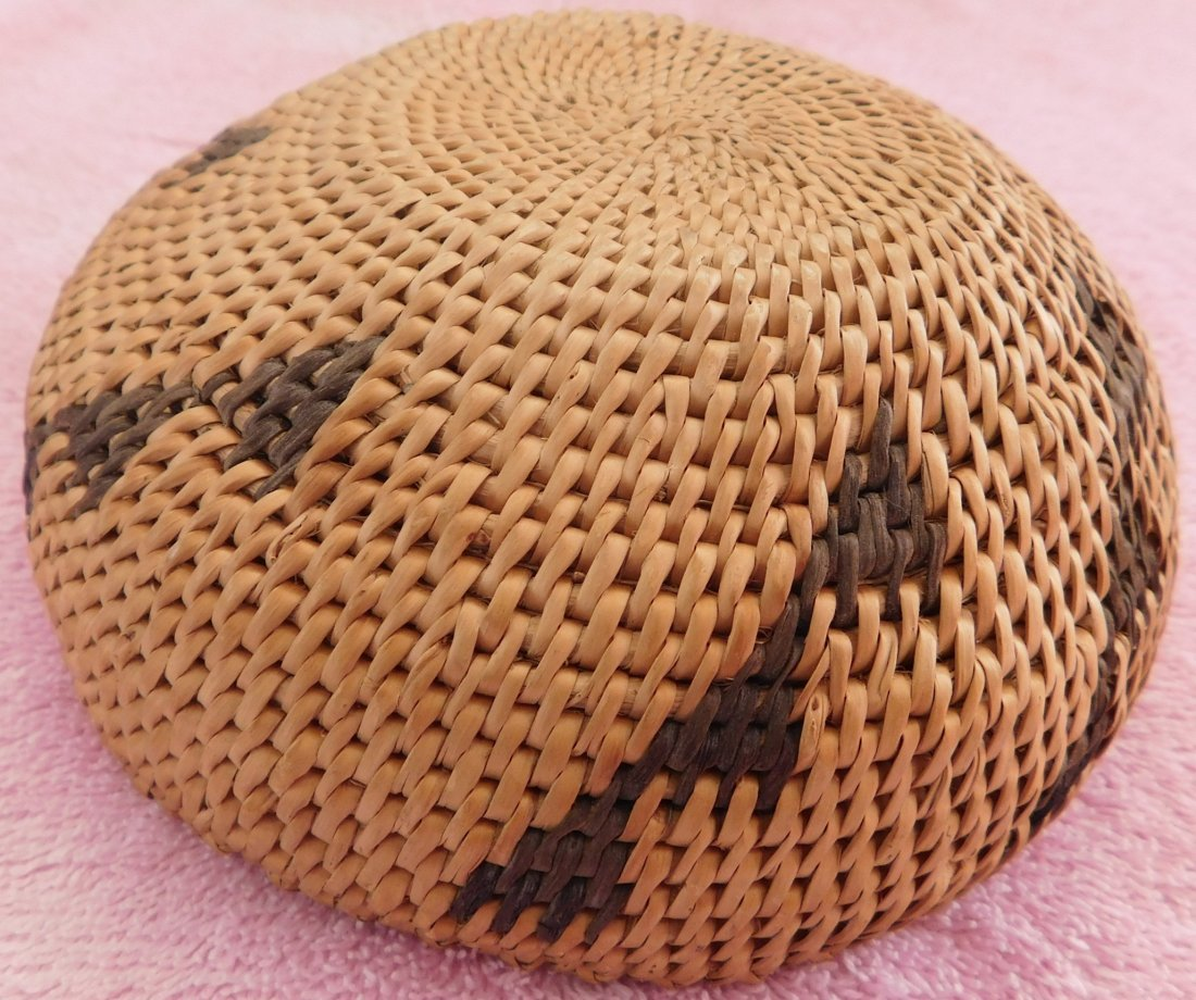 Washoe Basketry Bowl - 5