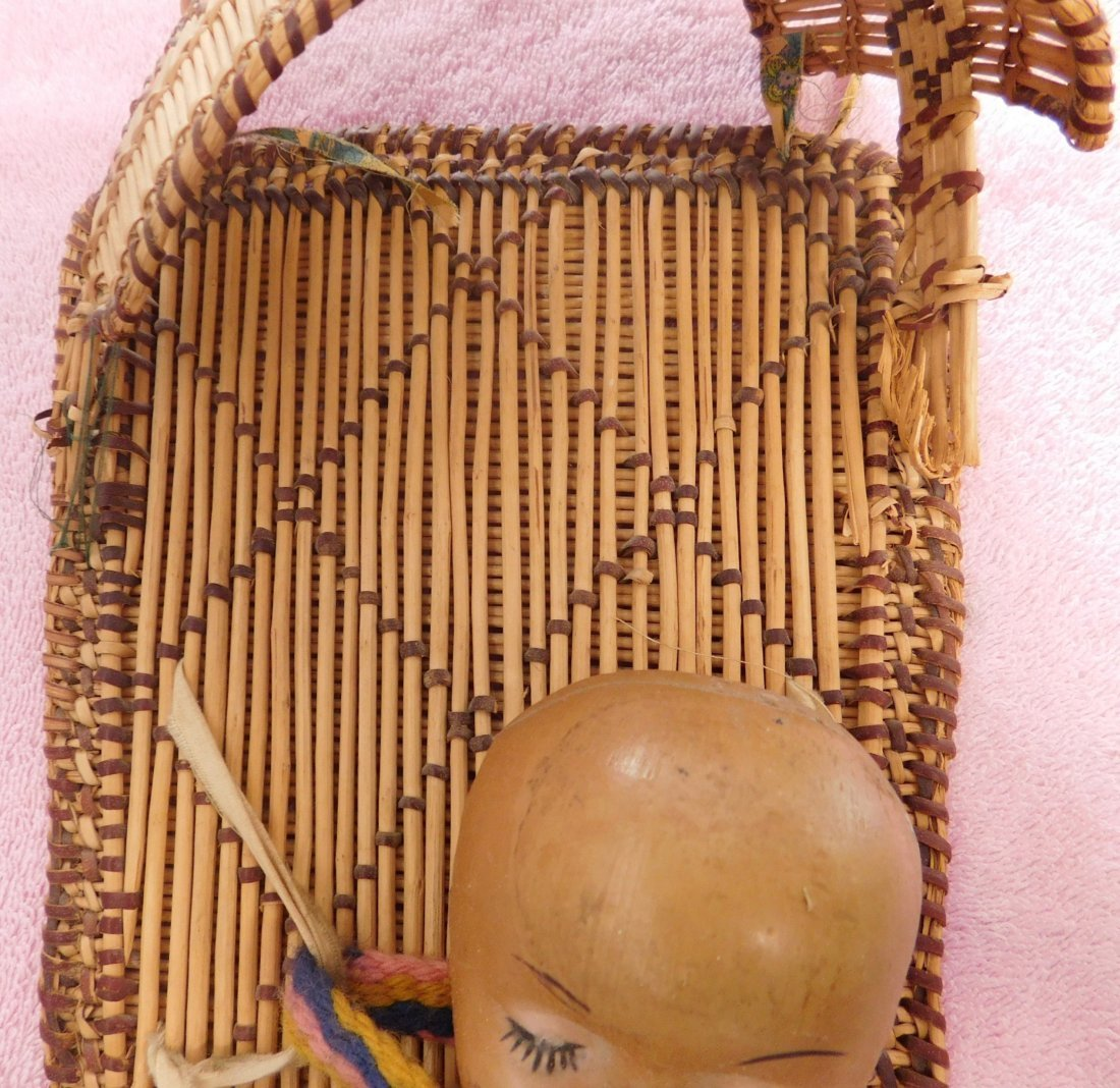 Old Mono Cradleboard - 4