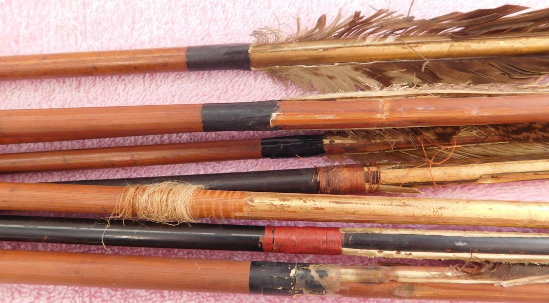 Collection of 8 Japanese Arrows - 3