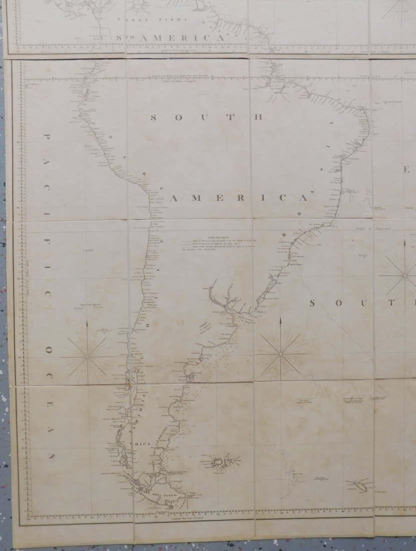 Rare English Maps of the North & South Atlantic - 5