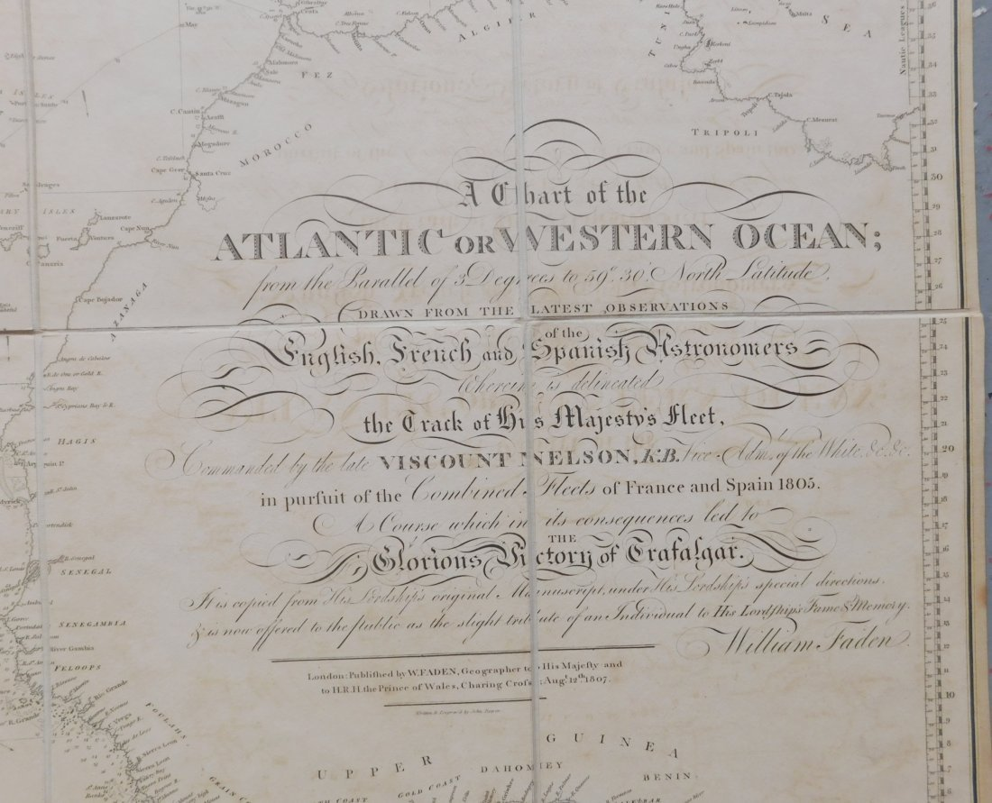 Rare English Maps of the North & South Atlantic - 7