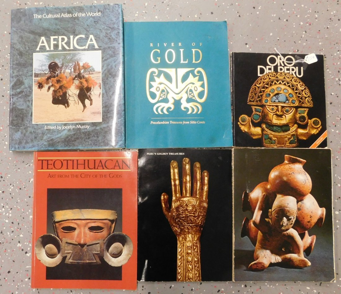 Group of Pre-Columbian Books