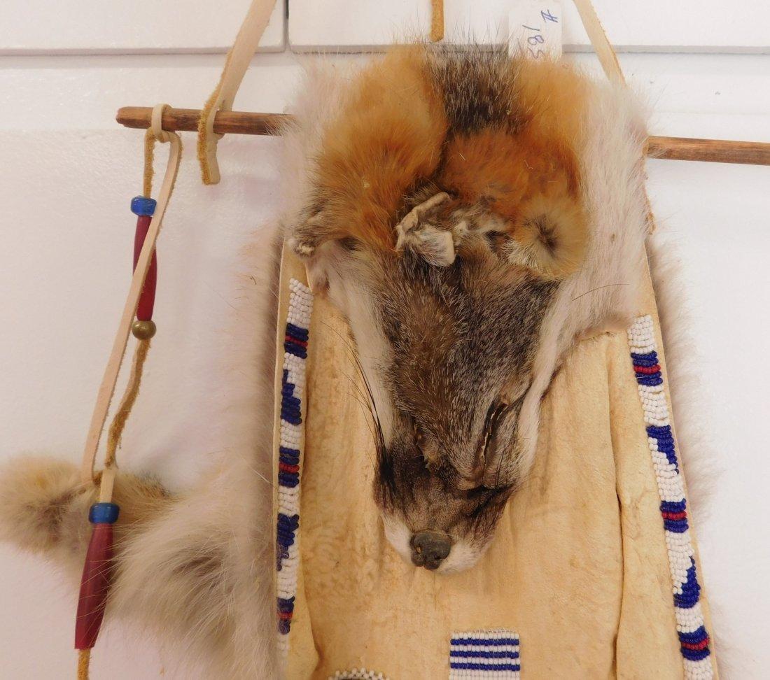 Beaded Fox Hide - 2