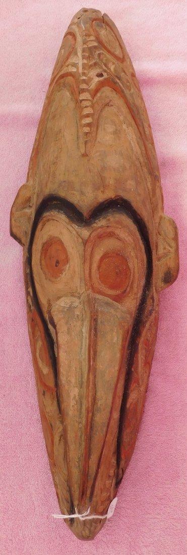 New Guinea Mask w/Helm COA