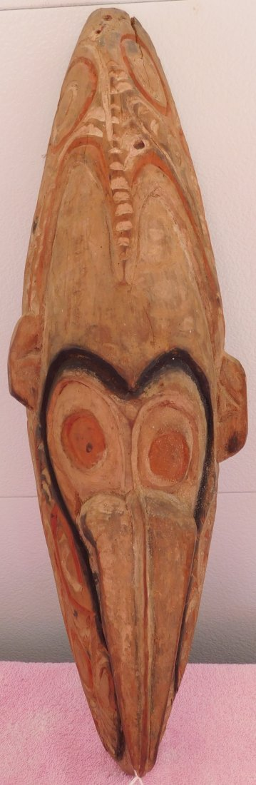 New Guinea Mask w/Helm COA - 7