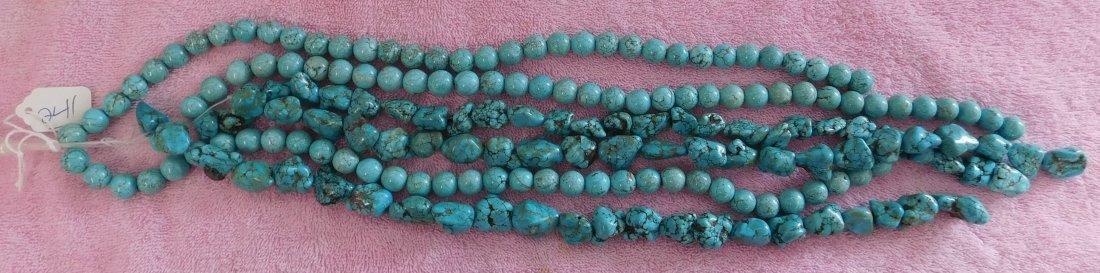 Turquoise & Stone Beads