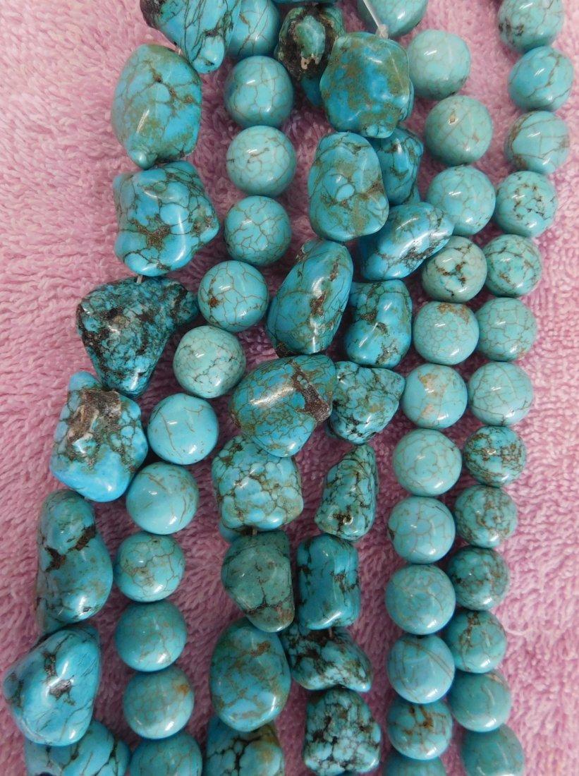 Turquoise & Stone Beads - 3