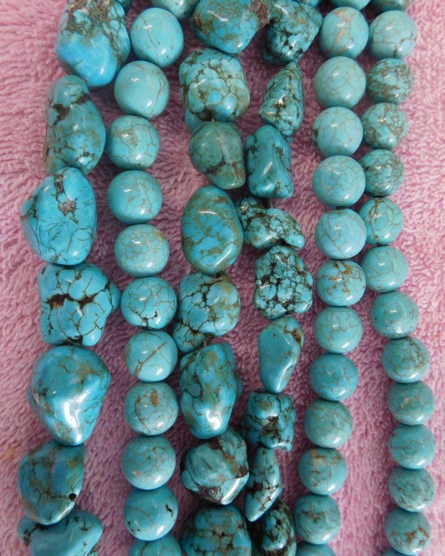 Turquoise & Stone Beads - 4