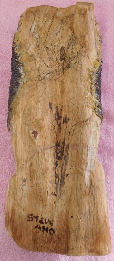 Original Painting on Palm Branch - 4