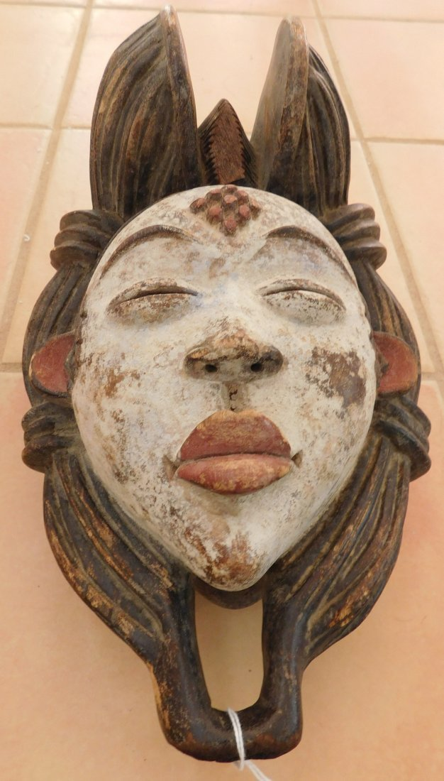 Old African Mask - 2