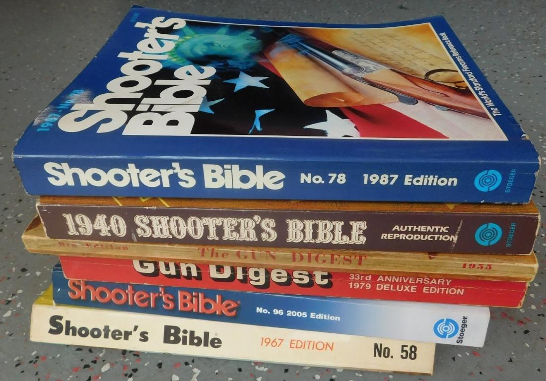 6 Old Gun Catalogs