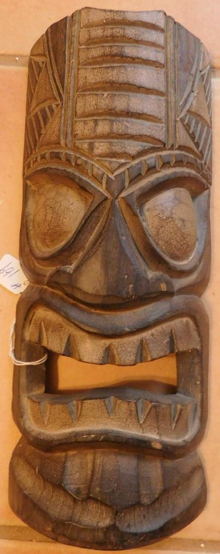 Polynesian Wood Mask
