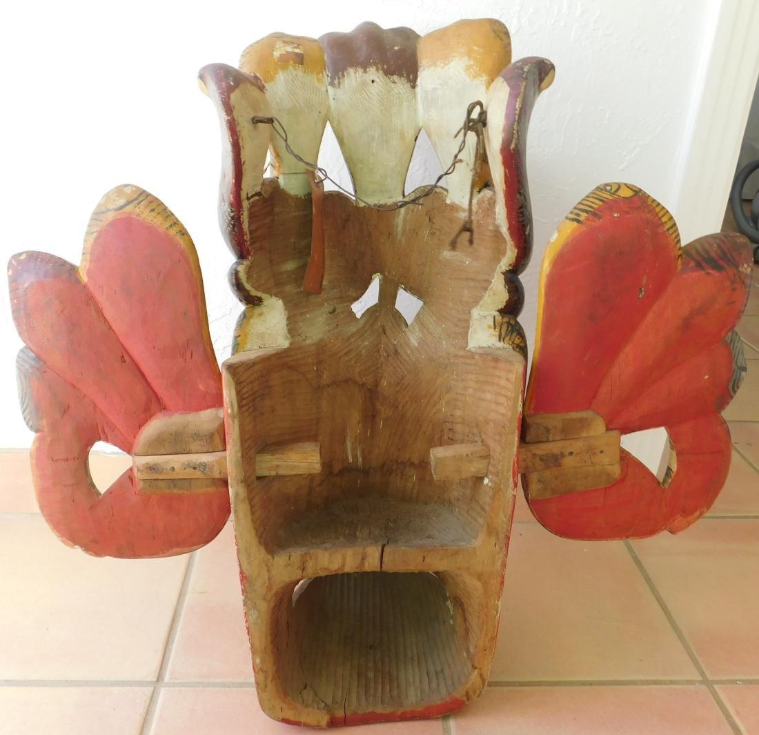 Large Ceylon Wood Mask - 8