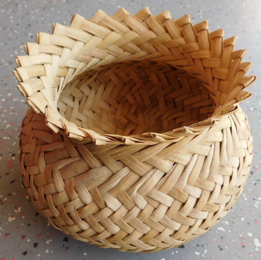 Large Basket of Tribal Baskets - 5