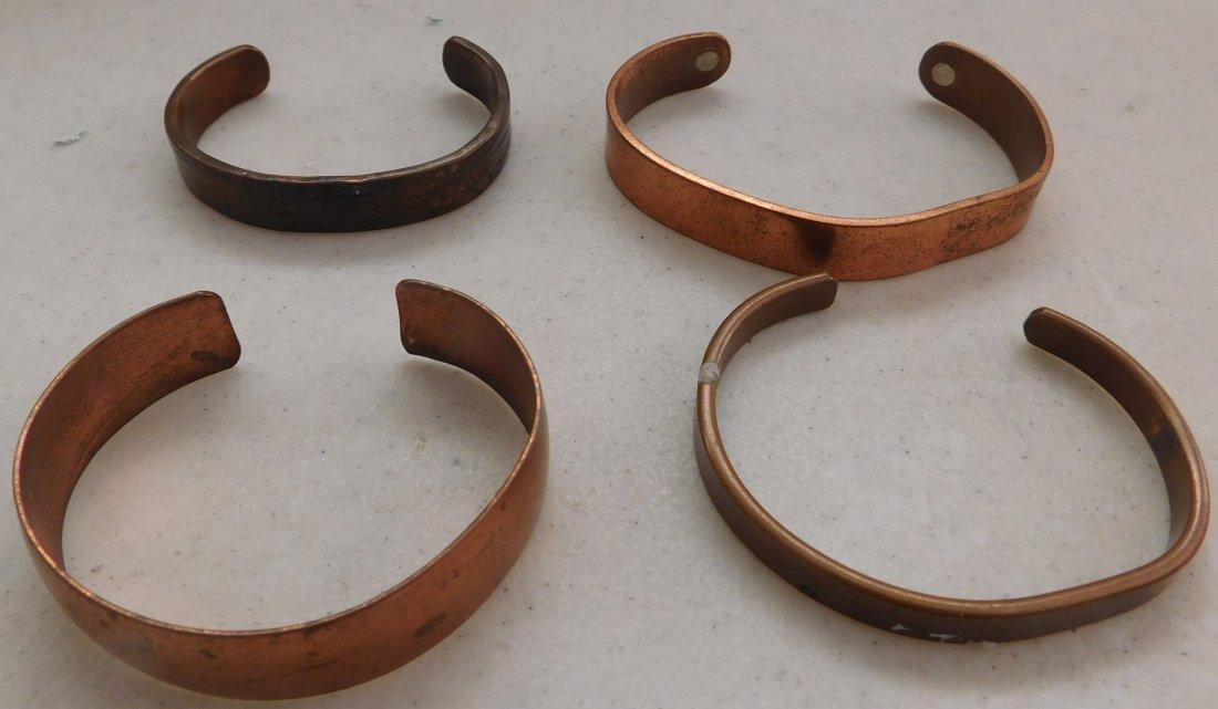 10 Copper Bracelets - 2