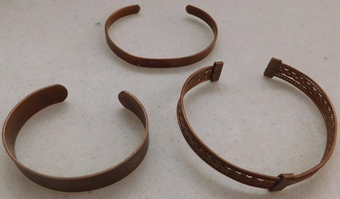 10 Copper Bracelets - 3
