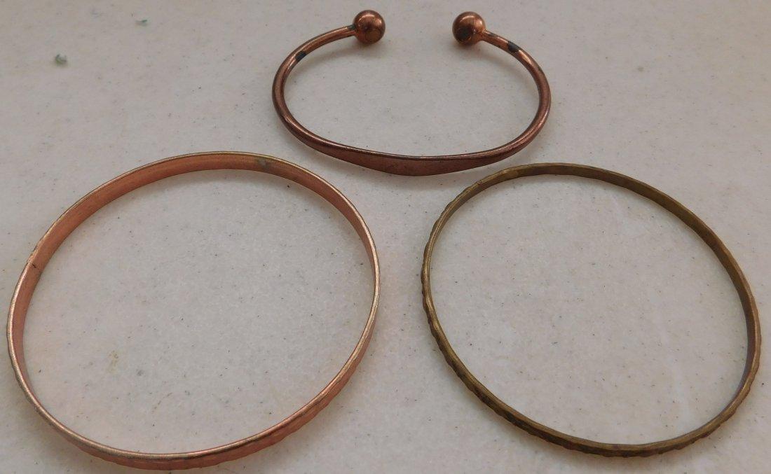10 Copper Bracelets - 4