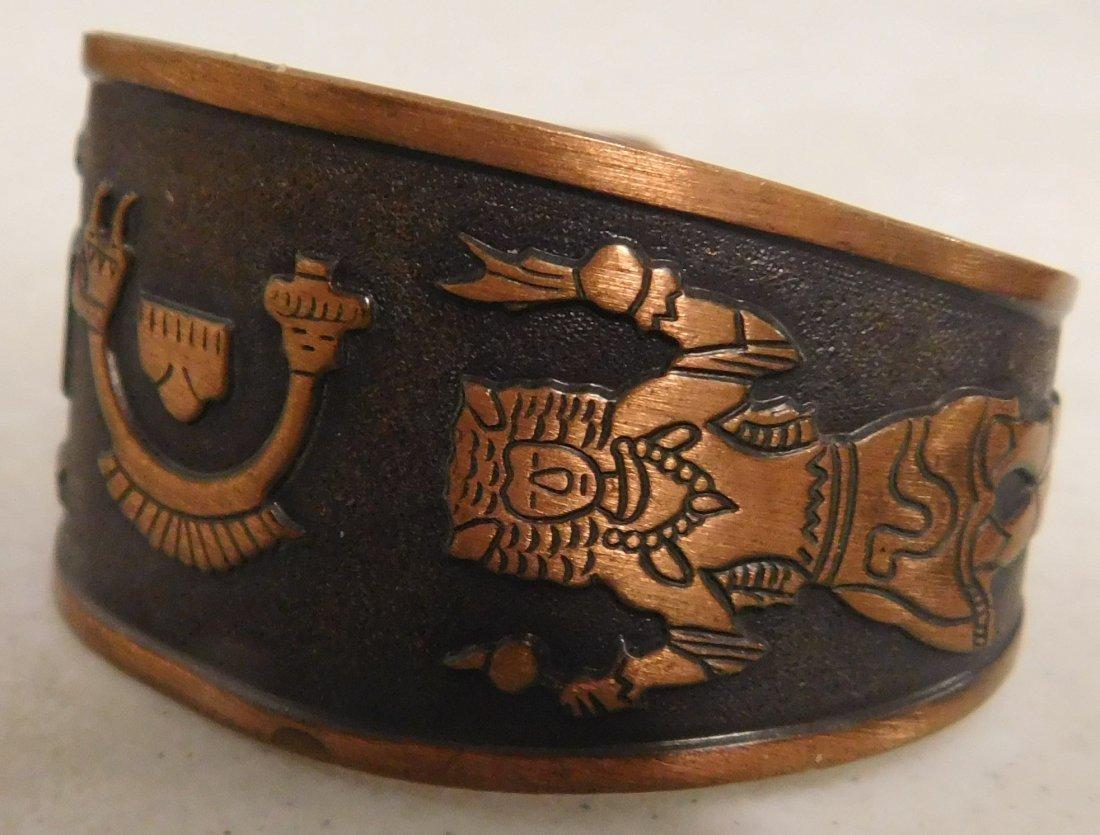 5 Copper & Brass Bracelets - 5