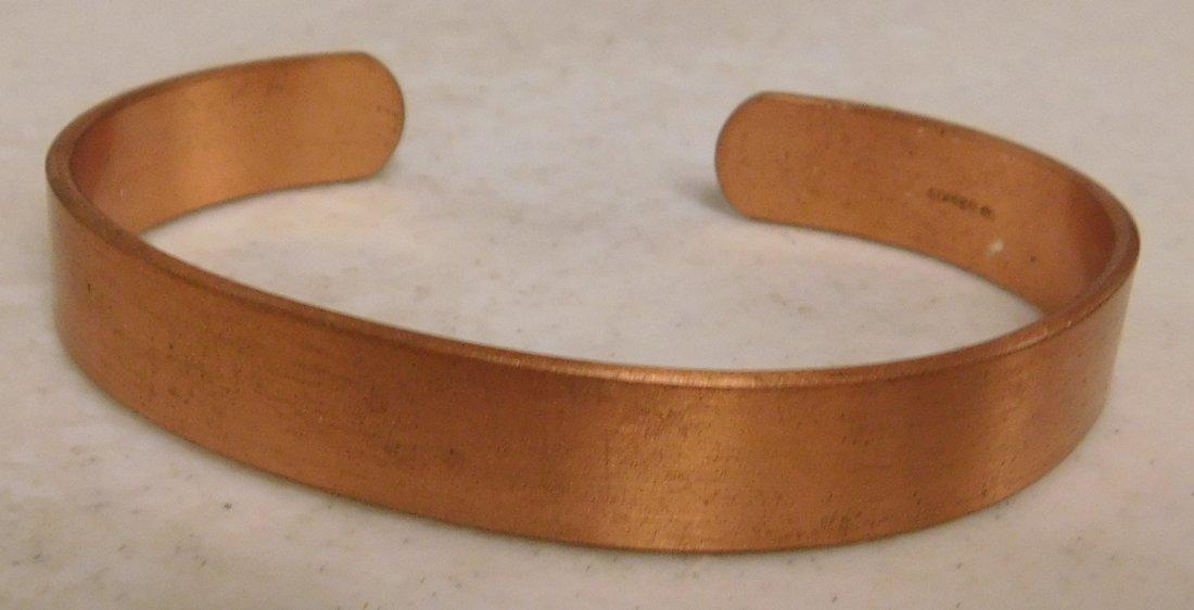 5 Copper & Brass Bracelets - 6