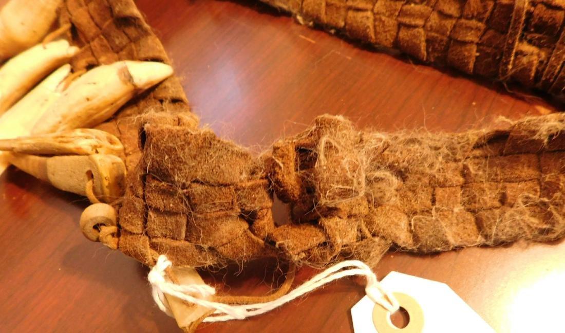 Papua New Guinea Headband w/Helm COA - 5
