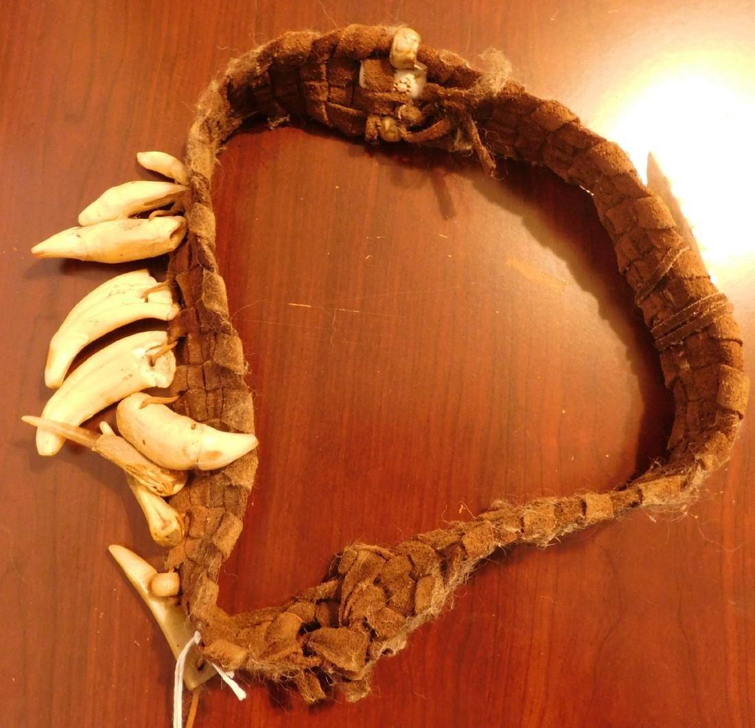 Papua New Guinea Headband w/Helm COA - 8