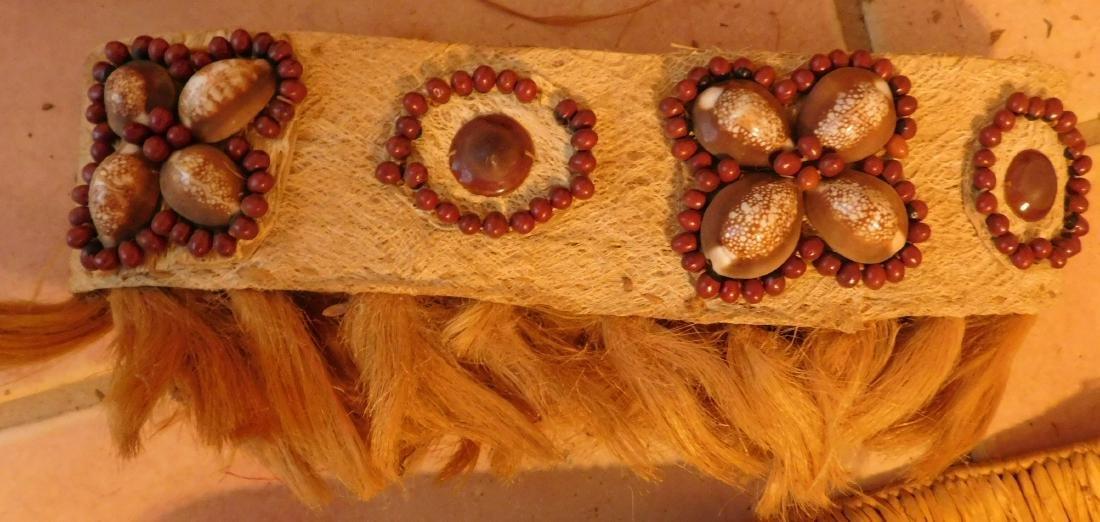 Polynesian Grass Skirt w/Helm COA - 8