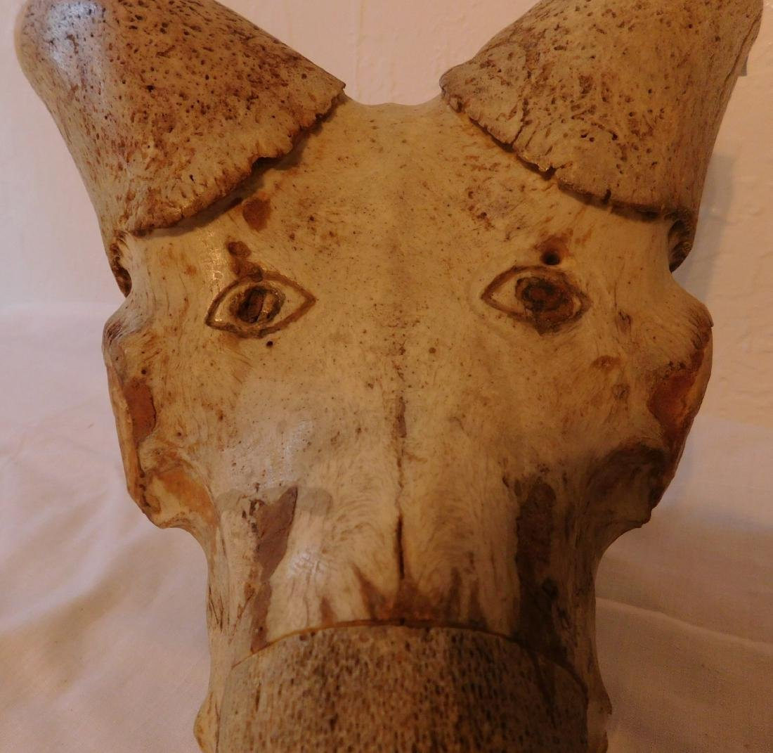 Carved Animal Skull - 3