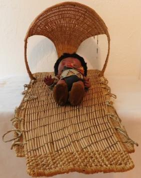 California Basketry Cradleboard
