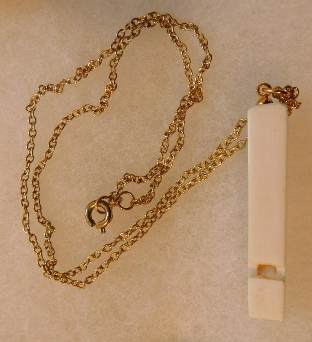 7 Pieces of Alaskan Antique Jewelry - 6