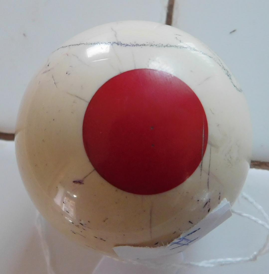 Scrimshaw Cue Ball - 4