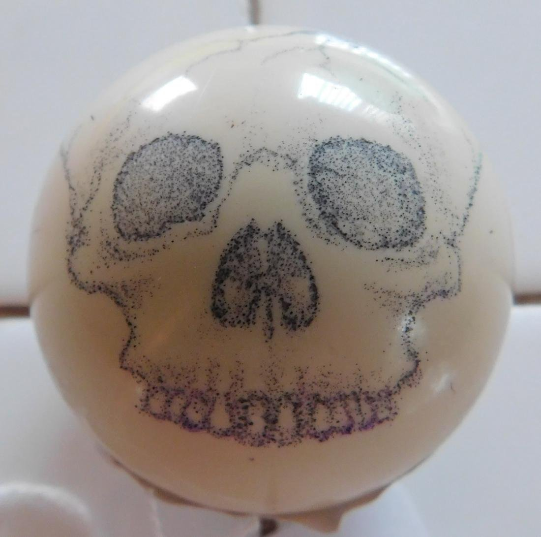 Scrimshaw Cue Ball - 6