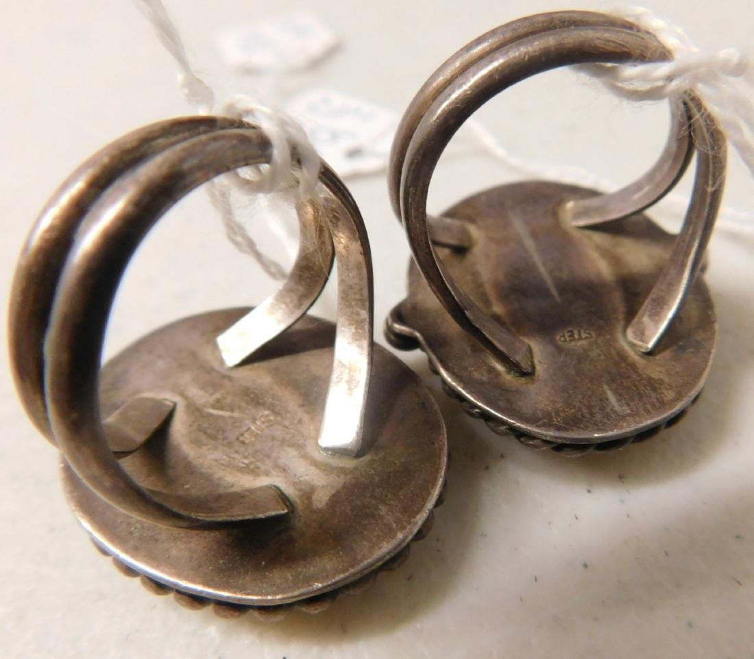 2 Sterling Rings w/Stonework - 4