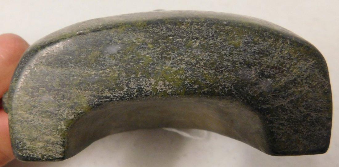 Fine Teotihuacan Stone Mask w/Helm COA - 9