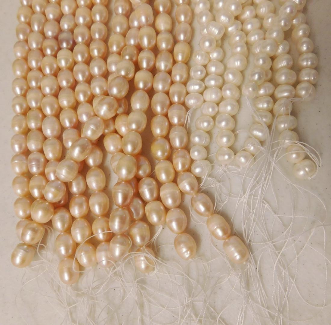 18 Strings of Freshwater Pearls - 2