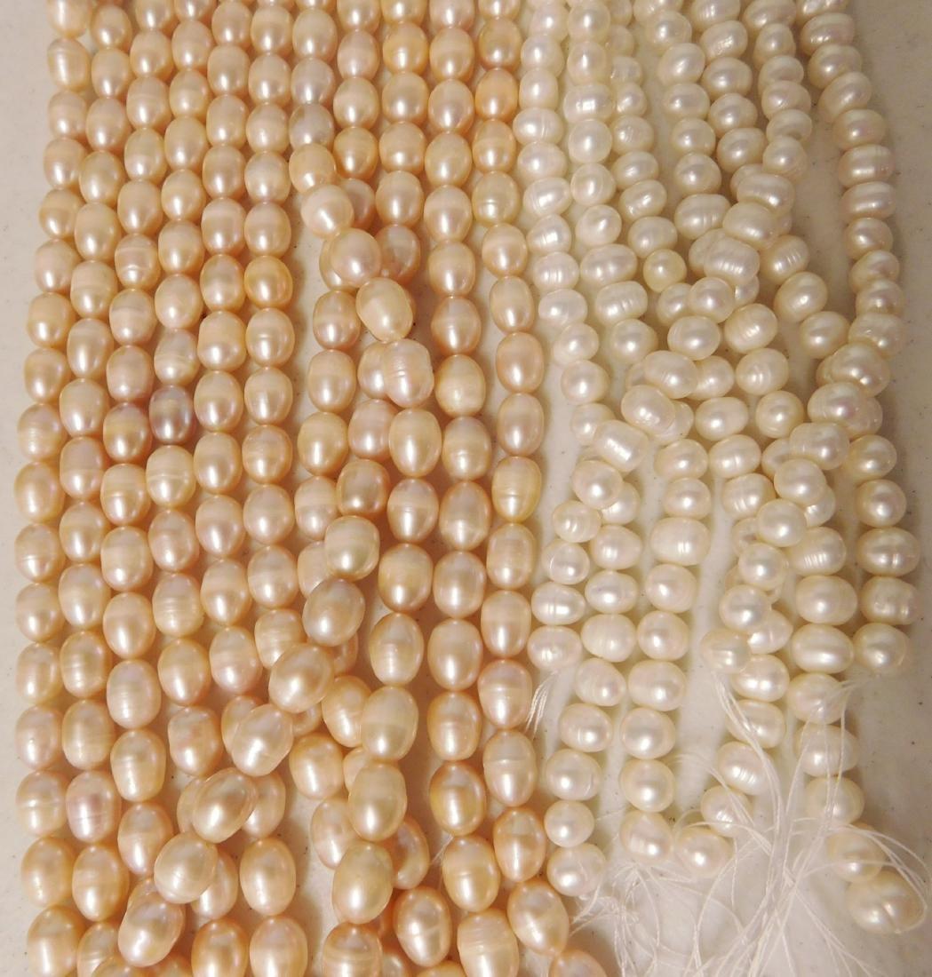 18 Strings of Freshwater Pearls - 3