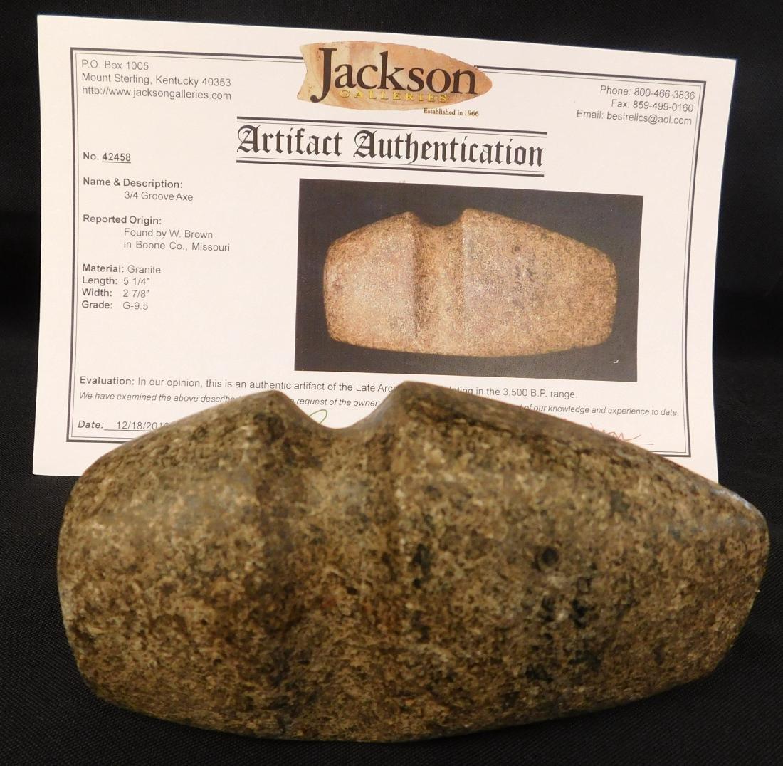 Stone Axe w/Jackson COA