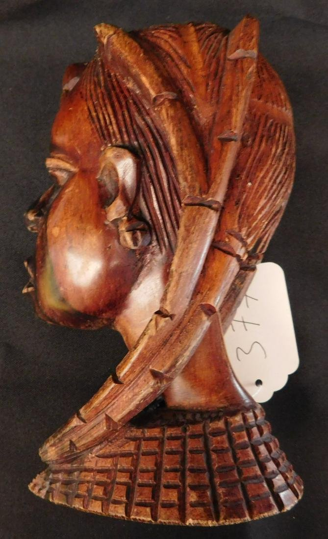 African Female Wood Carving - 10