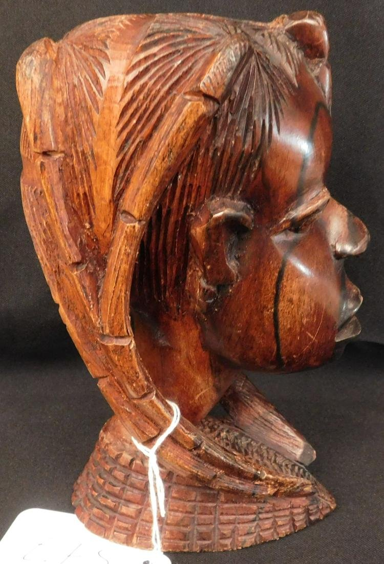 African Female Wood Carving - 4