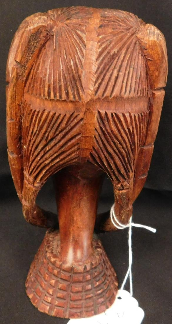 African Female Wood Carving - 5